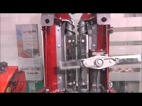 Mecanismo corte de maíz Capello. (Quasar)