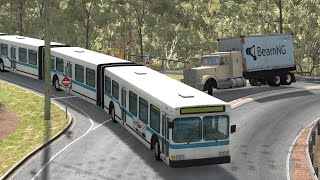 Articulated Bus Crashes 2 | BeamNG.drive