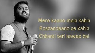 Dhokha Dhadi song lyrics - Arijit Singh, Palak Muchhal