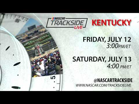 Don't miss NASCAR Trackside Live from Kentucky Speedway
