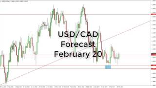 USD/CAD - USD/CAD Technical Analysis for February 20 2017 by FXEmpire.com