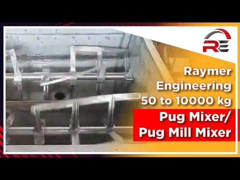 Pug Mill Mixer