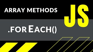 JavaScript: как работает метод forEach + ПРИМЕРЫ