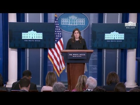 1/4/18: White House Press Briefing