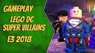 Gameplay LEGO DC Super Villains - E3 2018 - dooclip.me