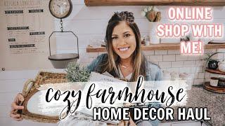FARMHOUSE DECOR HAUL | COZY COTTAGE HOME DECORATING | DECORATE #WITHME 2020
