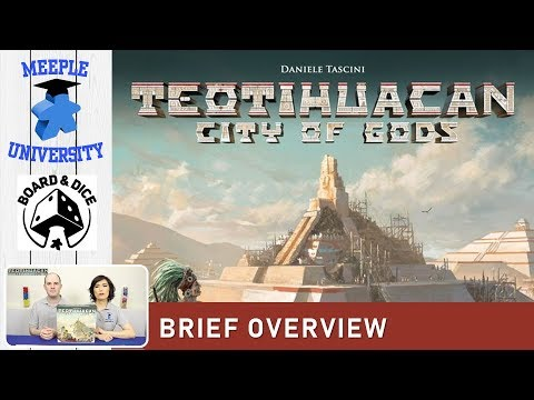 Teotihuacan City of Gods Board Game –  What to Expect, Brief Overview