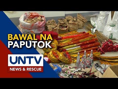 [UNTV]  Listahan ng mga ipinagbabawal na paputok, inilabas na ng PNP