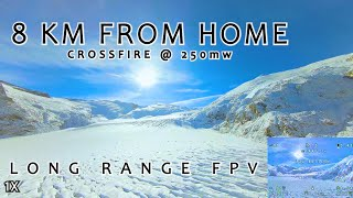 8km From Home w/ TBS CROSSFIRE - Uncut 2.7k Long Range FPV Flight With DVR - Long Range Freedom II