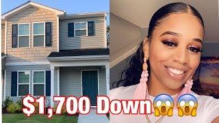 How To Buy A New House! Single Mom And $1,700 Down😱