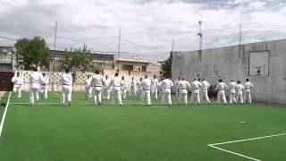 preview picture of video 'EXHIBICION KARATE DO SHORINRYU MATSUBAYASHI DOJO MERCEDES'