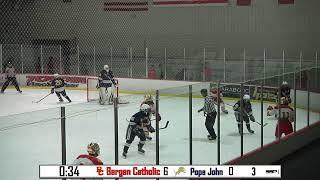 LIVE Ice Hockey: Bergen Catholic vs Pope John
