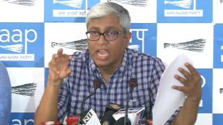 AAP Press Brief On Modi Govt Trying To Scuttle CBI Probe In Big Scam