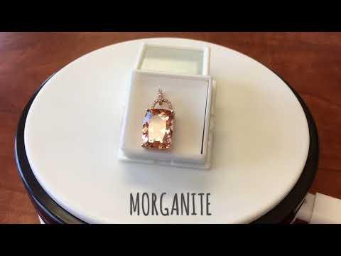 Morganite  Pendant