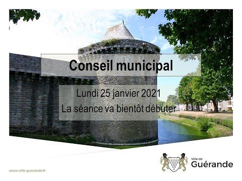 Conseil municipal de Guérande