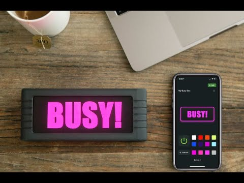 BusyBox – Smart Sign For Interruption-Free Work-GadgetAny