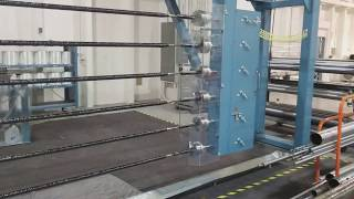 Six Spindle Four Axis Filament Winder