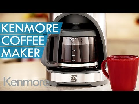 Get Steamy with the Kenmore Elite® Coffeemaker