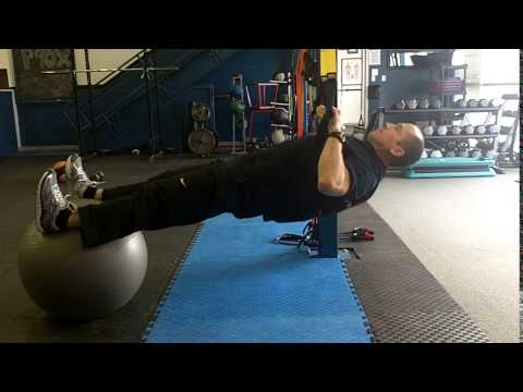 Suspension Rows (on Stability Ball)