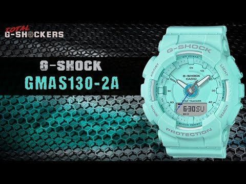 Casio G-Shock GMAS130-2A Step Tracker | Top 10 Things Watch Review