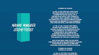 Musik-Video-Miniaturansicht zu Comme un voleu Songtext von Madame Monsieur feat. Jérémy Frérot