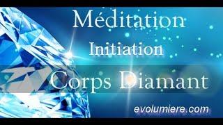 Méditation Activation du Corps de lumière Diamant