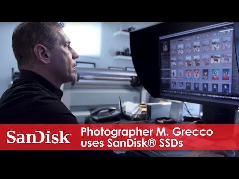Photographer M. Grecco uses SanDisk® SSDs