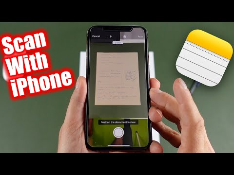 How To Scan Documents On iPhone, iPhone 11, 8, 6s, SE or iPad