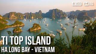 Ti Top Island, Ha Long Bay (UNESCO World Heritage Site) - 🇻🇳 Vietnam - 4K Virtual Tour