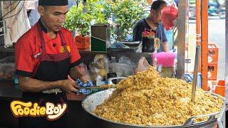 Goat Fried Rice(Nasi Goreng Kambing) / Indonesian Street Food / Jakarta Indonesia
