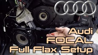 Focal PS 165f3 + Focal PS 165f into an Audi A6