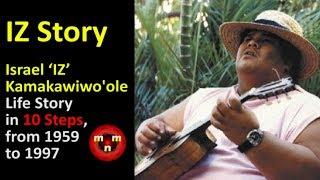 🌈 'IZ' Story ➖  Israel 'IZ' Kamakawiwo'ole Life Story in 10 Steps, from 1959 to 1997 🌈