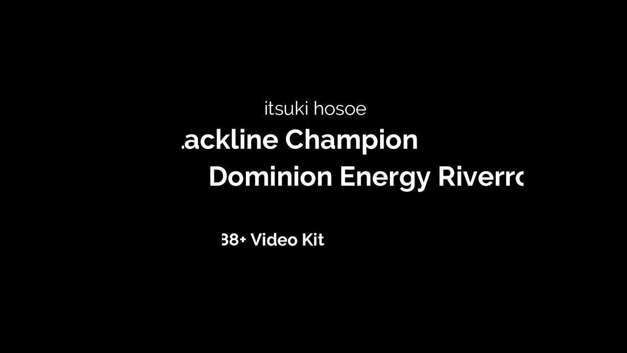 slackline sound with SHURE MV88+ Video kit