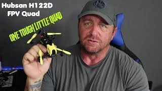 Hubsan h122d update one tough fpv racer. Very durable