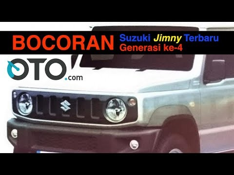 Bocoran Suzuki Jimny Terbaru, Generasi ke-4 I OTO.com