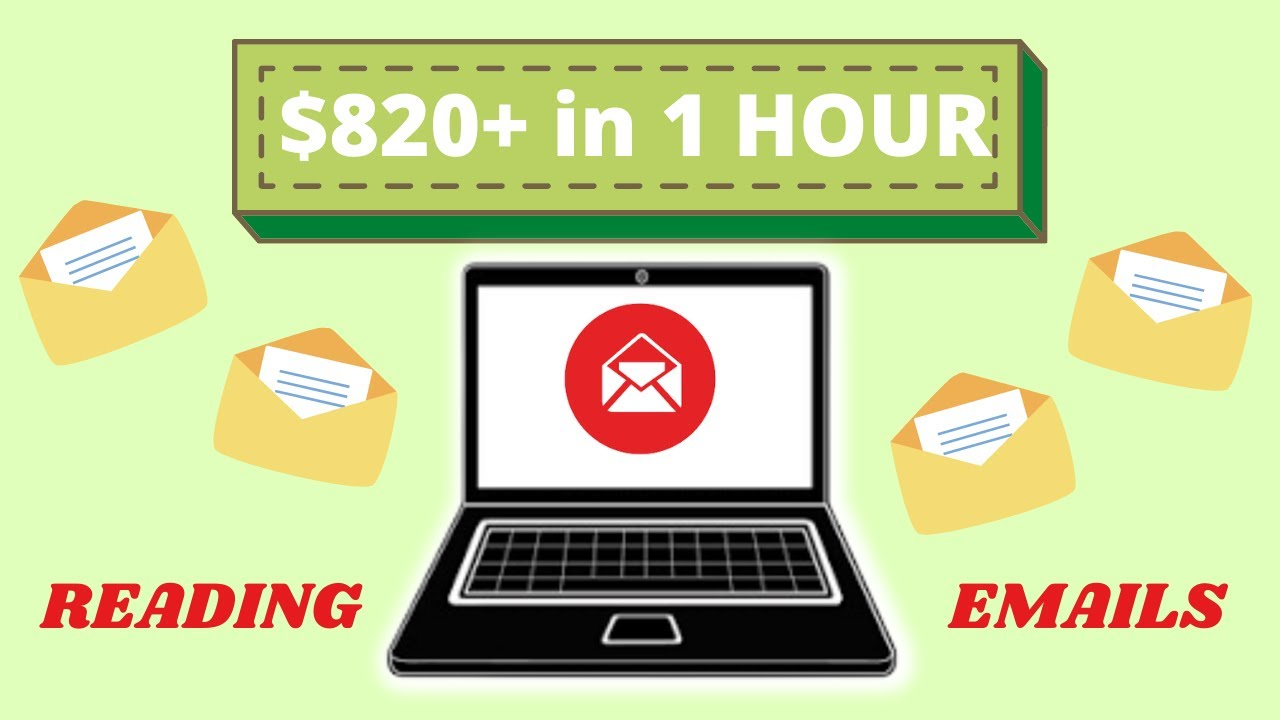 Make money $820 By Reading Emails in 1 Hour (Make Money Online) thumbnail
