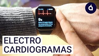 El ECG ya funciona en el Apple Watch Series 4