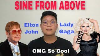 Lady Gaga, Elton John - Sine From Above (Audio) Reaction Indonesian