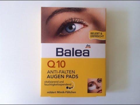 Im Test - Balea Augenpads (anti Falten)