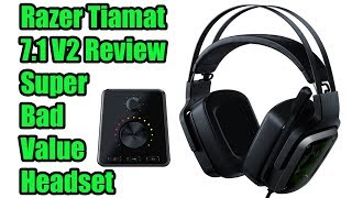 Razer Tiamat 7.1 V2 Gaming Headset Review - Stay Away!