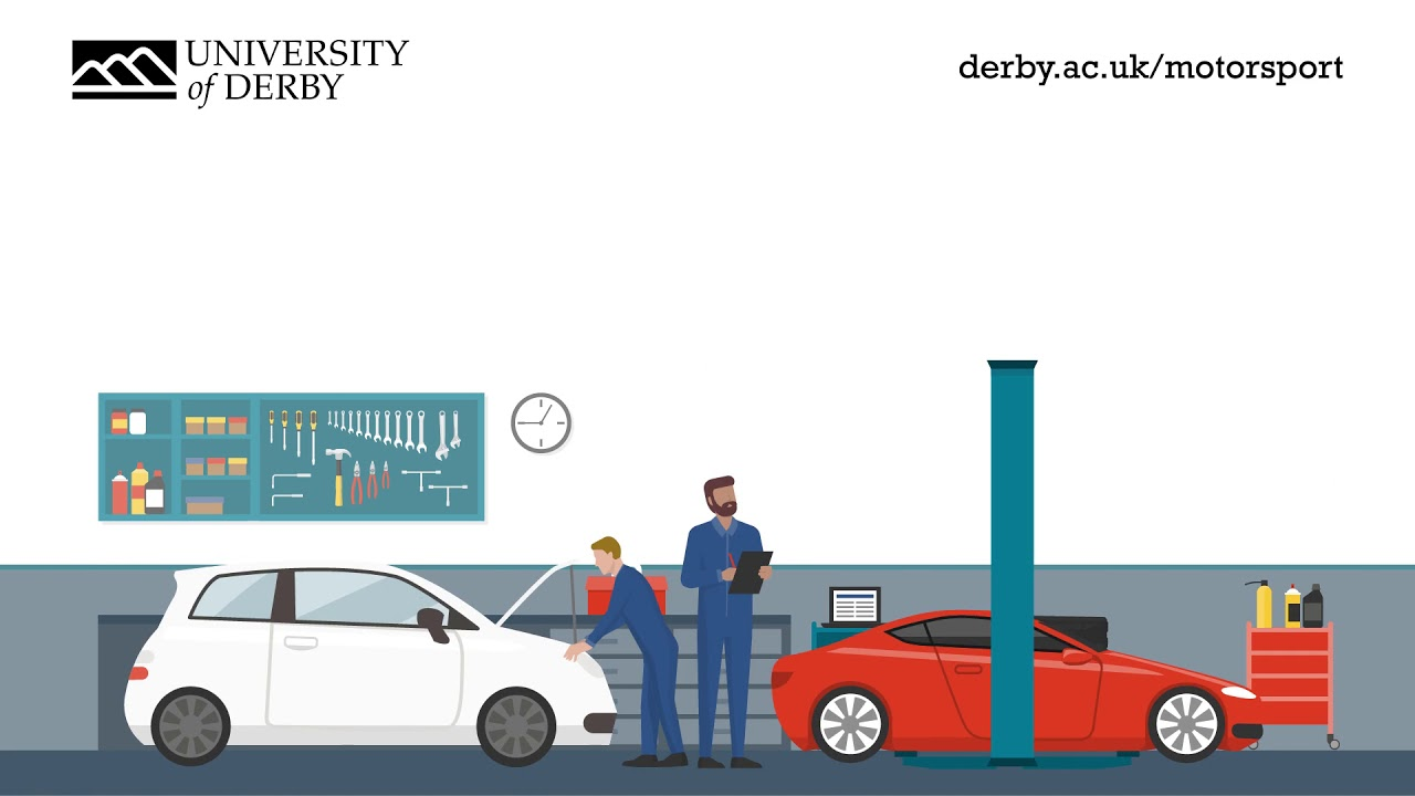 Find out more about studying Motorsport Engineering at the University of Derby