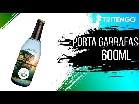 Porta Garrafa 600ml Personalizado - Tritengo