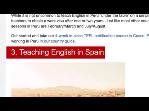 Top 7 Spanish speaking countries for teaching English abroad ...