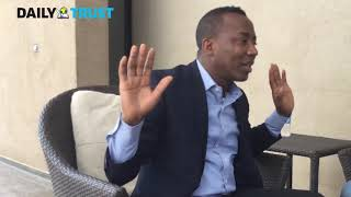 Buhari fighting a half hearted war against corruption - Sowore