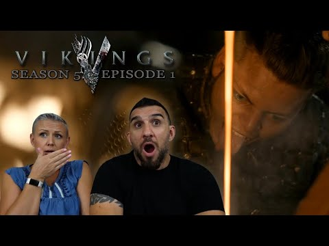 Vikings Season 5 Episode 1 'The Departed Part 1' REACTION!!