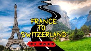 Welcome to Switzerland | France to Interlaken Road Trip | Europe Trip EP-35