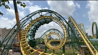 preview picture of video 'Longfeng Roller Coaster - Chuanlord Holiday Manor, China'