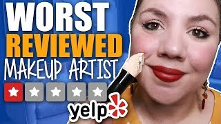 ASMR Worst Reviewed Makeup Artist in My City 💍 Wedding Makeup 💍