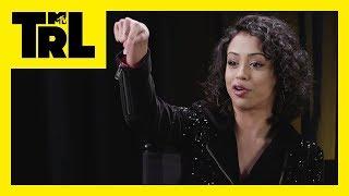 Liza Koshy & the 'Pitch Perfect 3' Cast Talk 2018 Resolutions | TRL Weekdays at 4pm