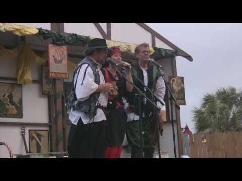 "Rambling Sailors ~ ""Barrett's Privateers"" ~ Florida Renaissance Festival 2009"